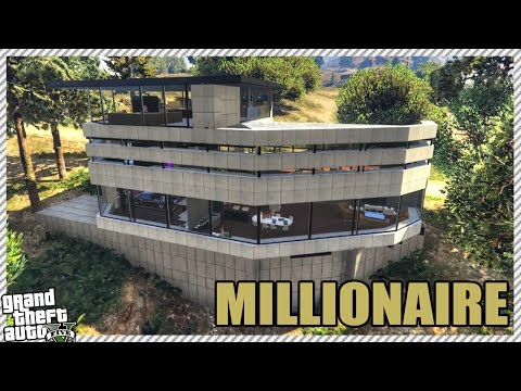 EXPENSIVE NEW MILLIONAIRES MODERN HOUSE