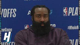 James Harden Postgame Interview - Game 1 | Rockets vs Lakers | September 4, 2020 NBA Playoffs