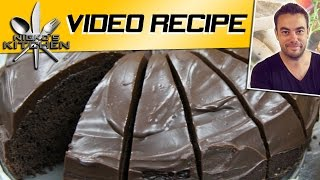 HOW TO MAKE CHOCOLATE CAKE - VIDEO RECIPE