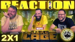 Marvel's Luke Cage 2x1 PREMIERE REACTION!!