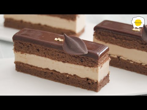 Caramel hazelnut(Hazelnut Praline) chocolate mousse cake 焦糖榛子巧克力慕斯蛋糕