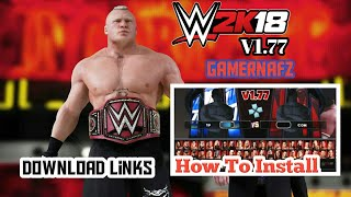 WWE 2K18 PSP, Android/PPSSPP v1.77 By Gamernafz - How To Download And Install in Android