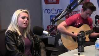 "Bea Miller stopped by to perform and acoustic version of her song ""Young Blood"" live in studio! https://www.facebook.com/ZachSangandTheGang ..."