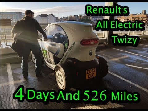 4 Days And 526 Miles In A Renault Twizy