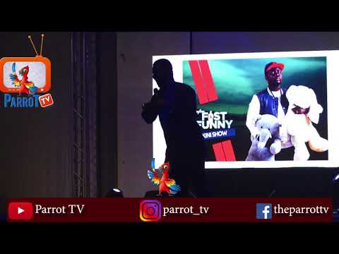 Seyi Law Cracks Up The Crowd At Seyi Law Fast and Funny Live in Ibadan