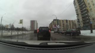 №155 В СПб ухудшилось качество дорог и разметки (февраль 2017)