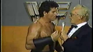 The Rougeau Brothers vs Iron Mike Sharp & Steve Lombardi