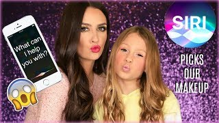Siri Picks My Makeup Challenge! Funny Makeup Tutorial!