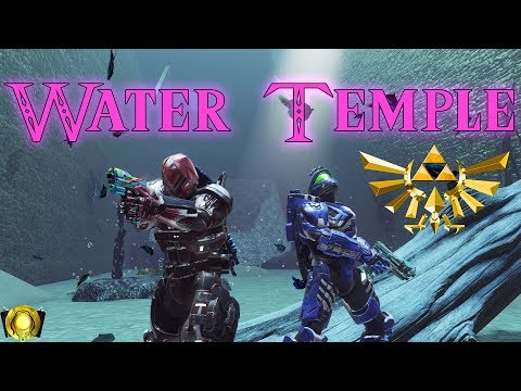 Halo 5 Puzzle Map - Water Temple