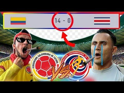 POR FIN 🔥 COLOMBIA VS COSTA RICA   AMISTOSO 2018   CAMILO MD