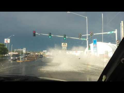 Flash Flooding in Great Falls, MT Part 2