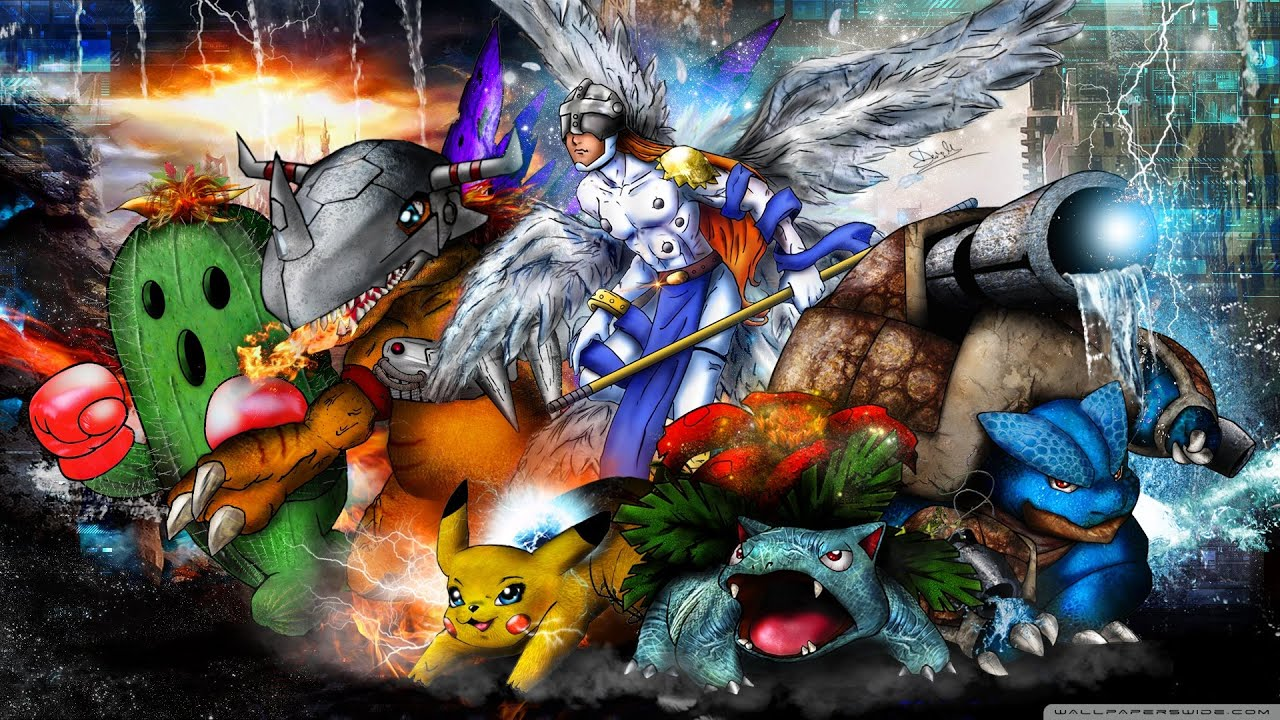 Digimon Pack Wallpapers Anime Full HD 1 Link Mega