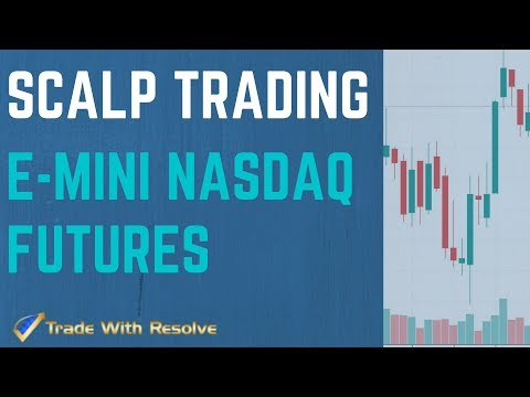 Trading Nasdaq NQ Futures Live: Scalp Trading E-mini Futures