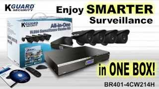 KGUARD Security All-In-One Combo Kit for 2012 (BR Series)