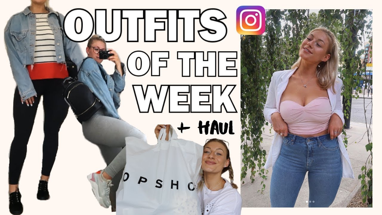 OUTFITS I WORE THIS WEEK *realistic* + TRY ON HAUL | AD 8
