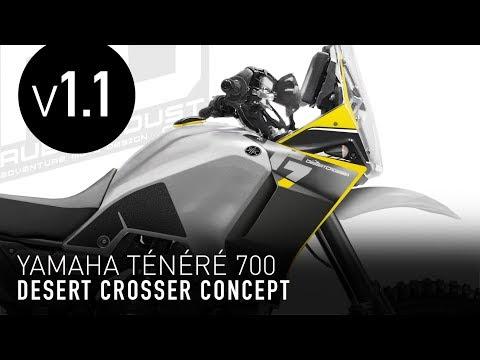 Yamaha Tenere 700 Desert Crosser concept v1.1