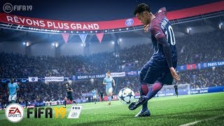 Fifa 19 - Gameplay - Full Match - Juventus vs PSG - Final Champions League - PS4