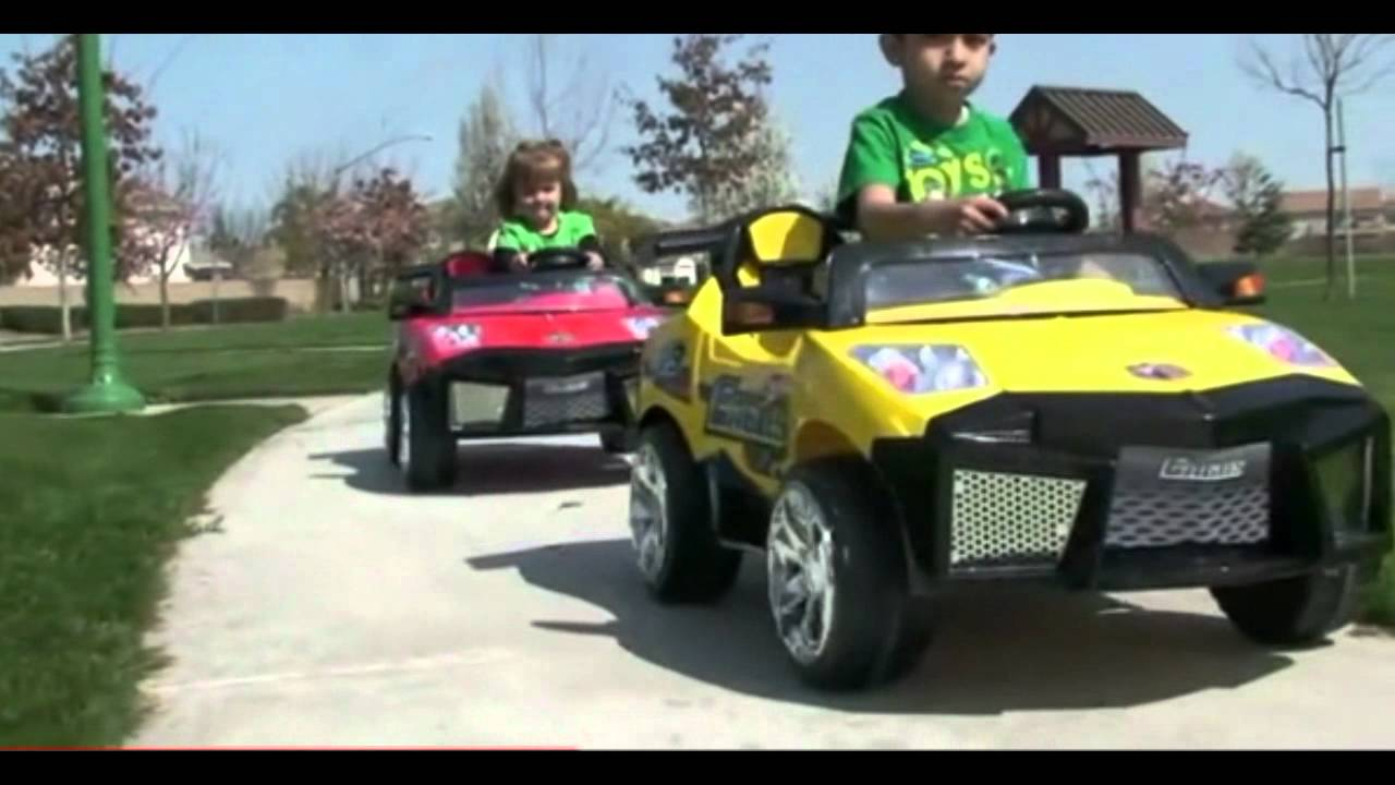 12 Volt Remote Control Ride On Ride In Car For Kids Is Awesome ...
