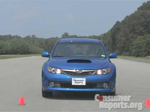 2008 2010 Subaru Wrx Sti Review Consumer Reports Youtube