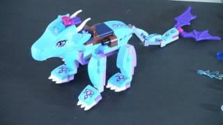 Распаковка Lego Elves - конструктор лего   ледяной дракон