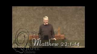 Matthew 22 (Part 1) :1-14 The Parable of the Wedding Feast