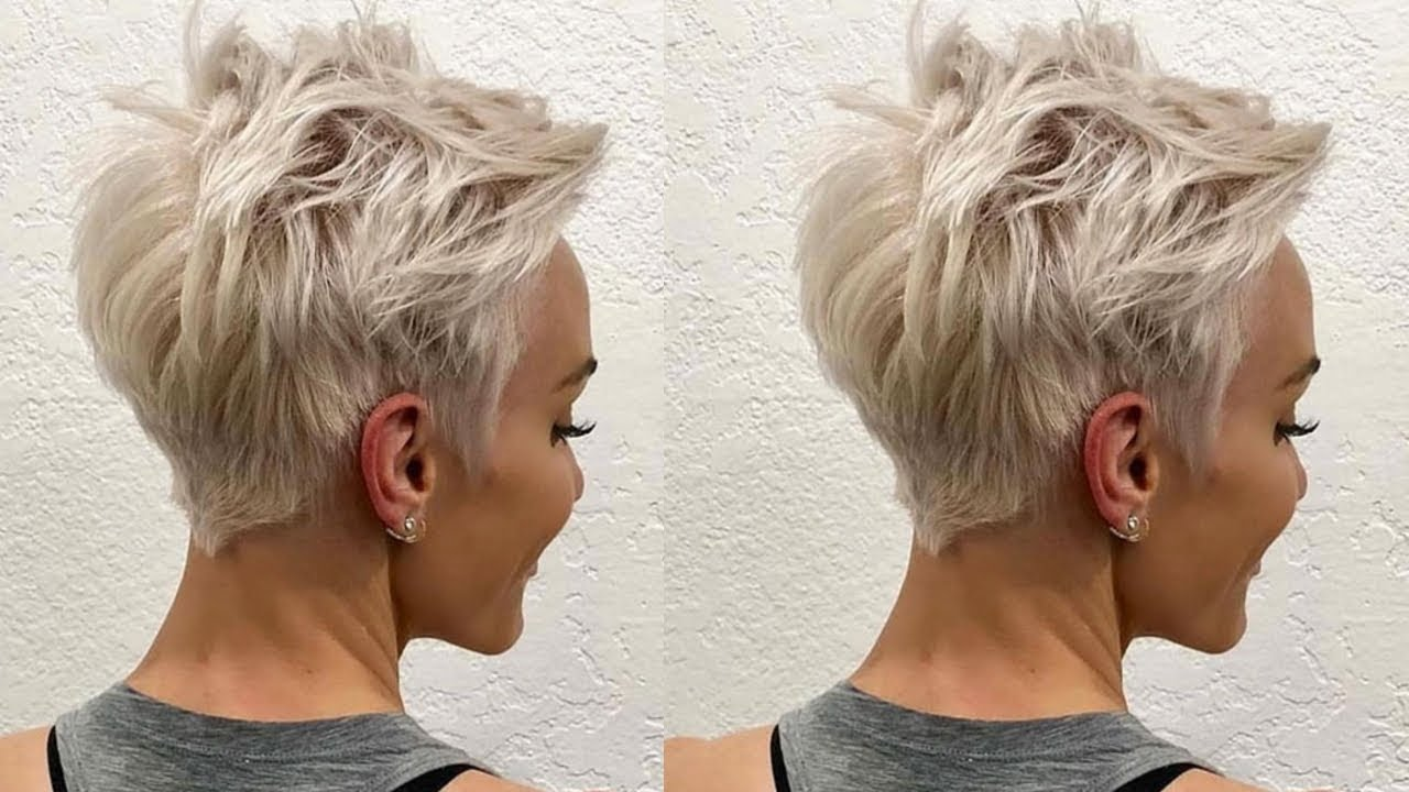 60+ Gallery Pictures New Pixie Haircuts Idea 2019 For