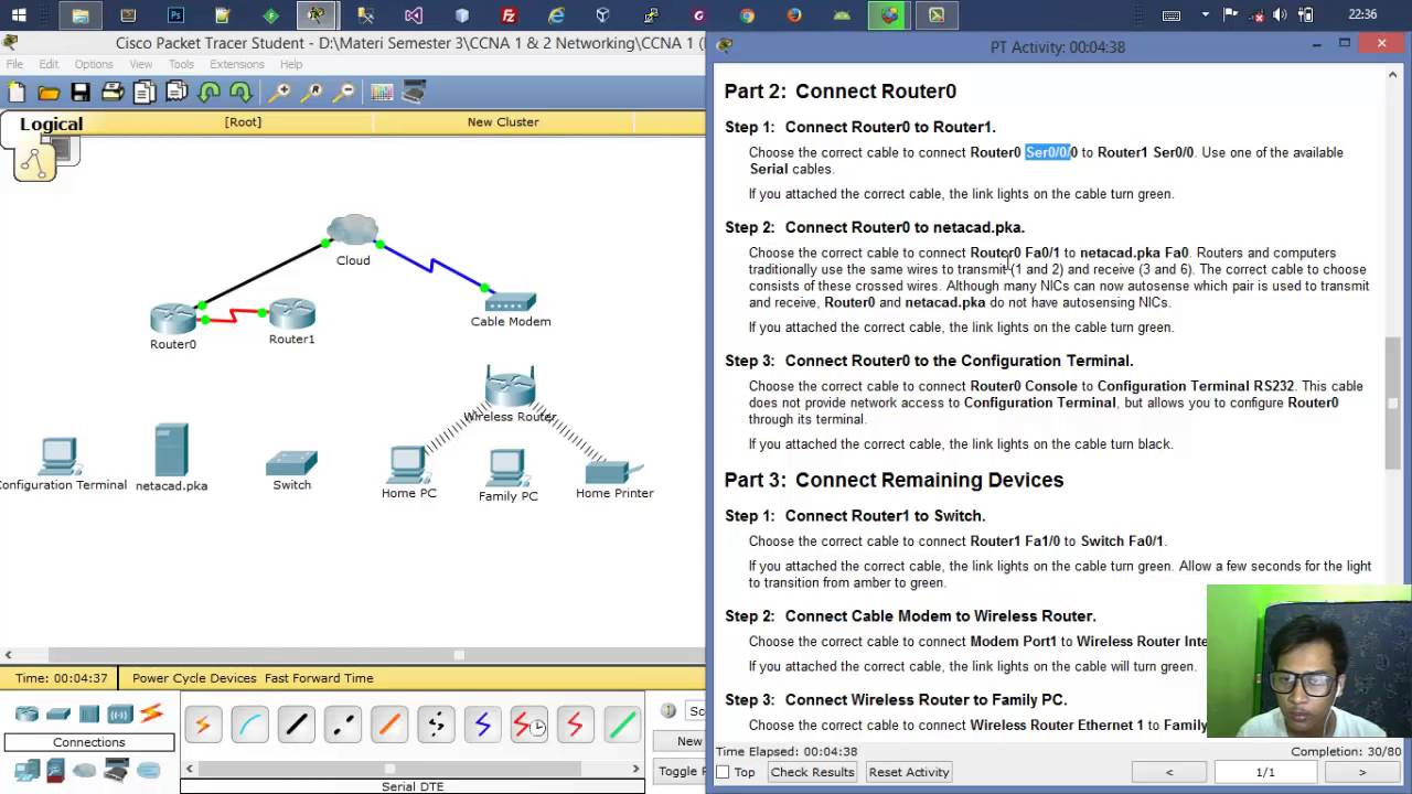 4. 2. 4. 5 packet tracer connecting a wired and wireless lan bhs.