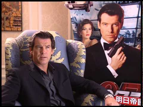 Pierce Brosnan interview for Tomorrow Never Dies