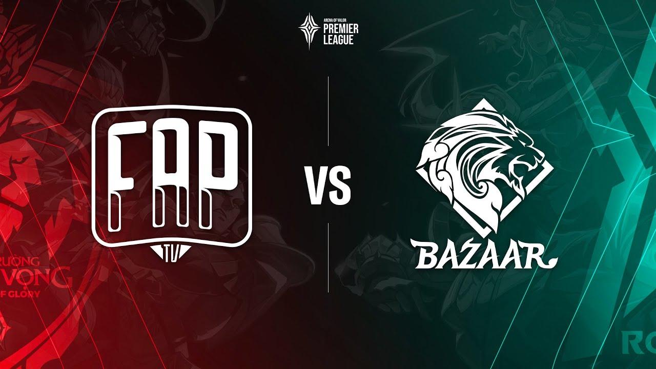 FAPtv vs Bazaar Gaming [Bảng B - 08.07.2020] - APL 2020