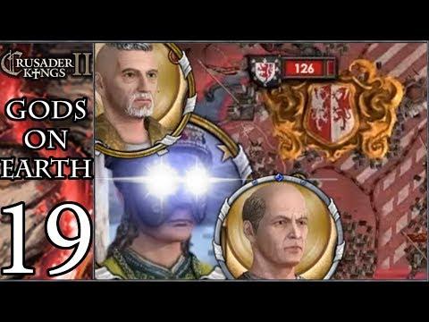 CK2: Gods On Earth #19 - Great Angelic Invasion [MAXIMUM DEUS VULT