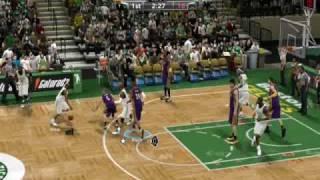 NBA 2K9 PC LAKERS VS CELTICS