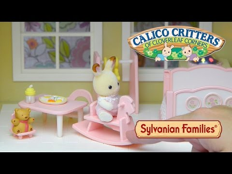 Sylvanian Families Calico Critters Nightlight Nursery Set