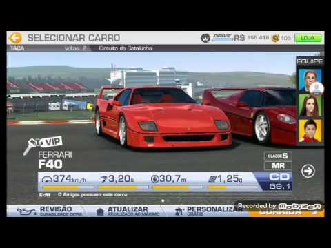 Ferrari F40 Real Racing 3 Youtube