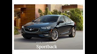 Introducing the ALL NEW 2018 Buick Regal Sportback And Sportback GS