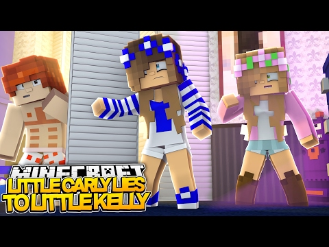 LITTLE CARLY LIES TO LITTLE KELLY! Minecraft (Custom Roleplay)