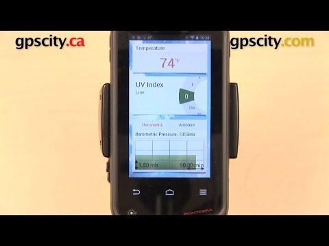 Garmin Monterra: Weather Services with GPS City