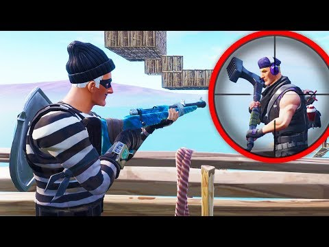 JA PUCAM A TI BEZIS - Fortnite Sniper vs Runner
