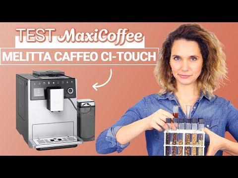 MELITTA CAFFEO CI-TOUCH F630-101 | Machine à café automatique | Le Test MaxiCoffee