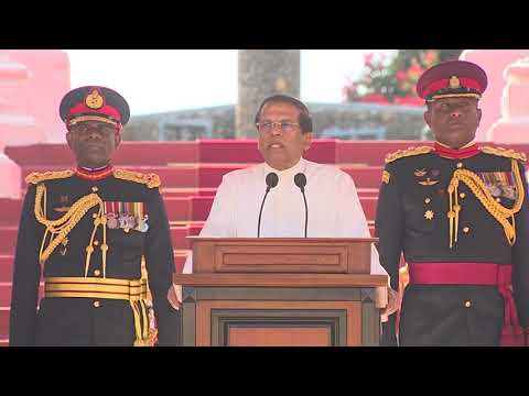 The 92nd passing out parade of the Sri Lanka Military Academy - Full Speech - 2017/12/17