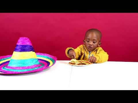 Mexican Food: South African Kids Try Mexican Food