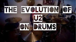 The Evolution Of U2 On Drums
