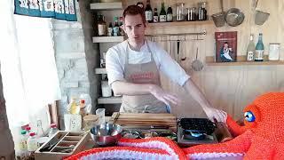 How to make Takoyaki (Live - unedited)