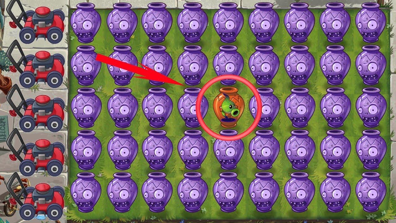 Plants vs Zombies 2 - Team Plants Power-Up! - Vasebreaker Endless - Wave: 100-101