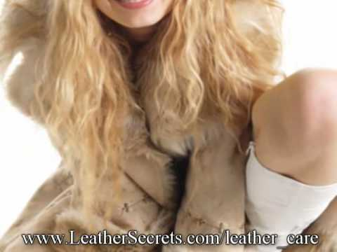 How to Care For Your Shearling Coat or Jacket - YouTube