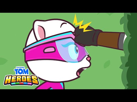 Talking Tom Heroes - The Labyrinth Mystery (Episode 33)