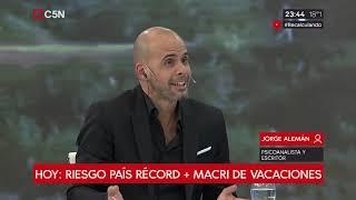 Jorge Alemán en Recalculando con Julián Guarino
