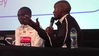 Mo Farah on his 2:06 PR at 2018 London Marathon
