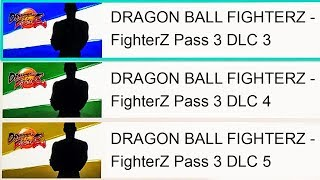 NEW FighterZ Season 3 FINAL DLC Characters?! Dragon Ball FighterZ Season 3 DLC Leak