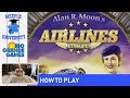 Airlines Europe Board Game - How to Play under 9 minutes