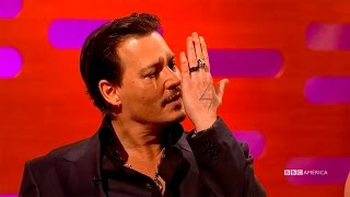 Johnny Depp Tried to be Cool Around Iggy Pop - The Graham Norton Show